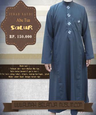 Jubah Saudi Abu Tua salur