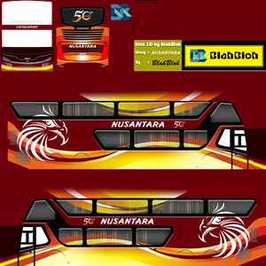Livery Bussid Nusantara SDD