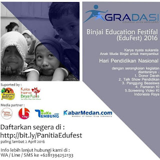 Binjai Education Festival (EduFest) 2016