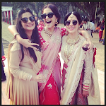 Sonam Kapoor half saree stills
