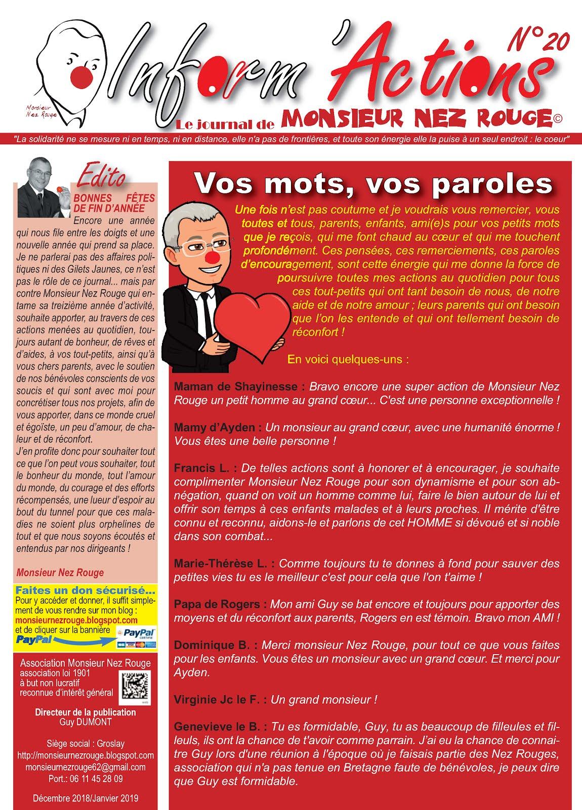 Monsieur Nez Rouge. Le clown triste - Guy Dumont