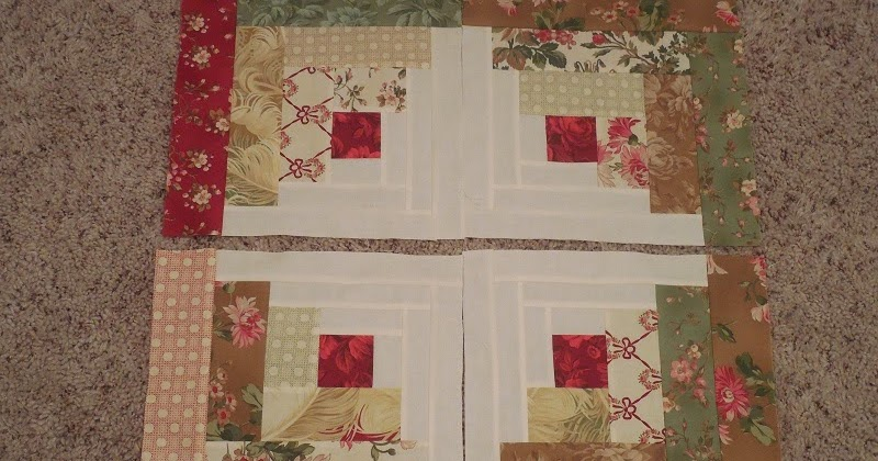 Whisper Of Rose Quilts Curved Log Cabin