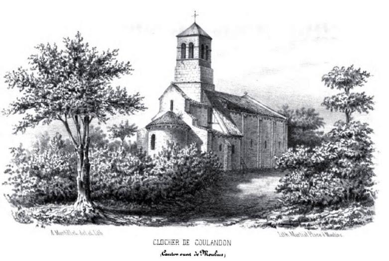 Patrimoine de l'Allier:église de Coulandon