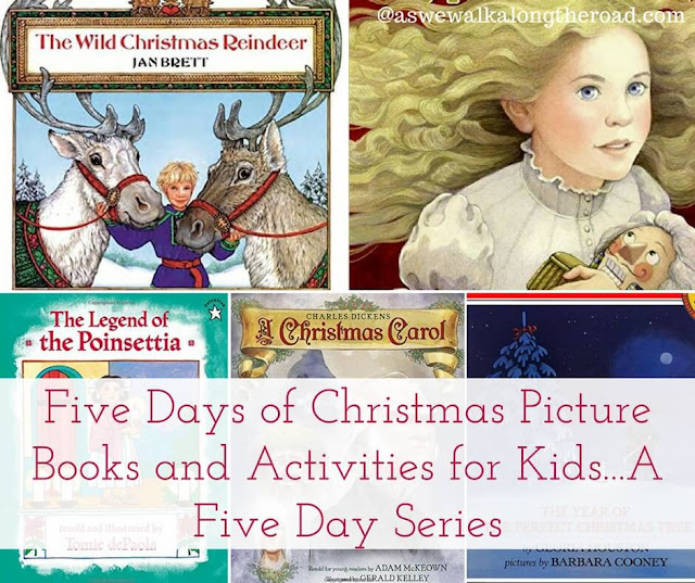 Christmas books and activities for kids