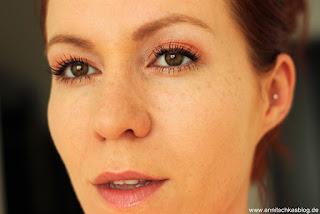 Review. BESTE Mascara aus der Drogerie! - Rock Couture v. CATRICE Tragebild - www.annitschkasblog.de