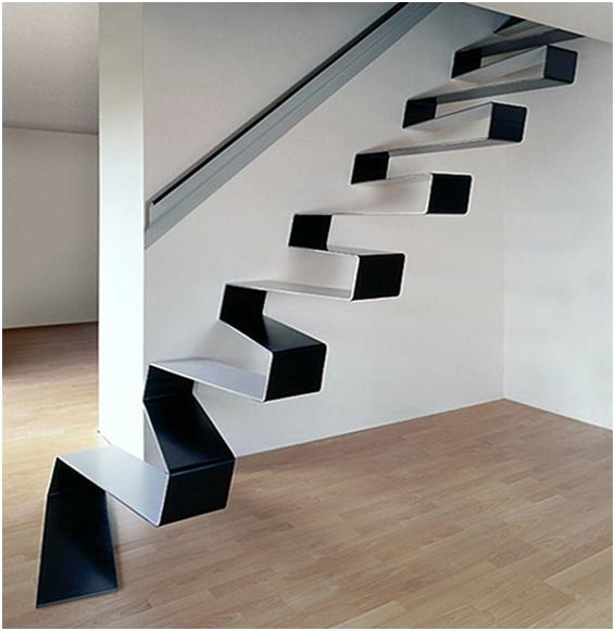 Inspirational Stairs Design: 10 Unique Stairs Models-Creative Staircase Designs