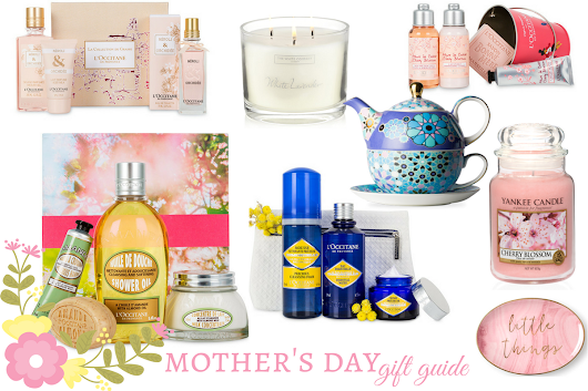 The Mother's Day Gift Guide with L'Occitane