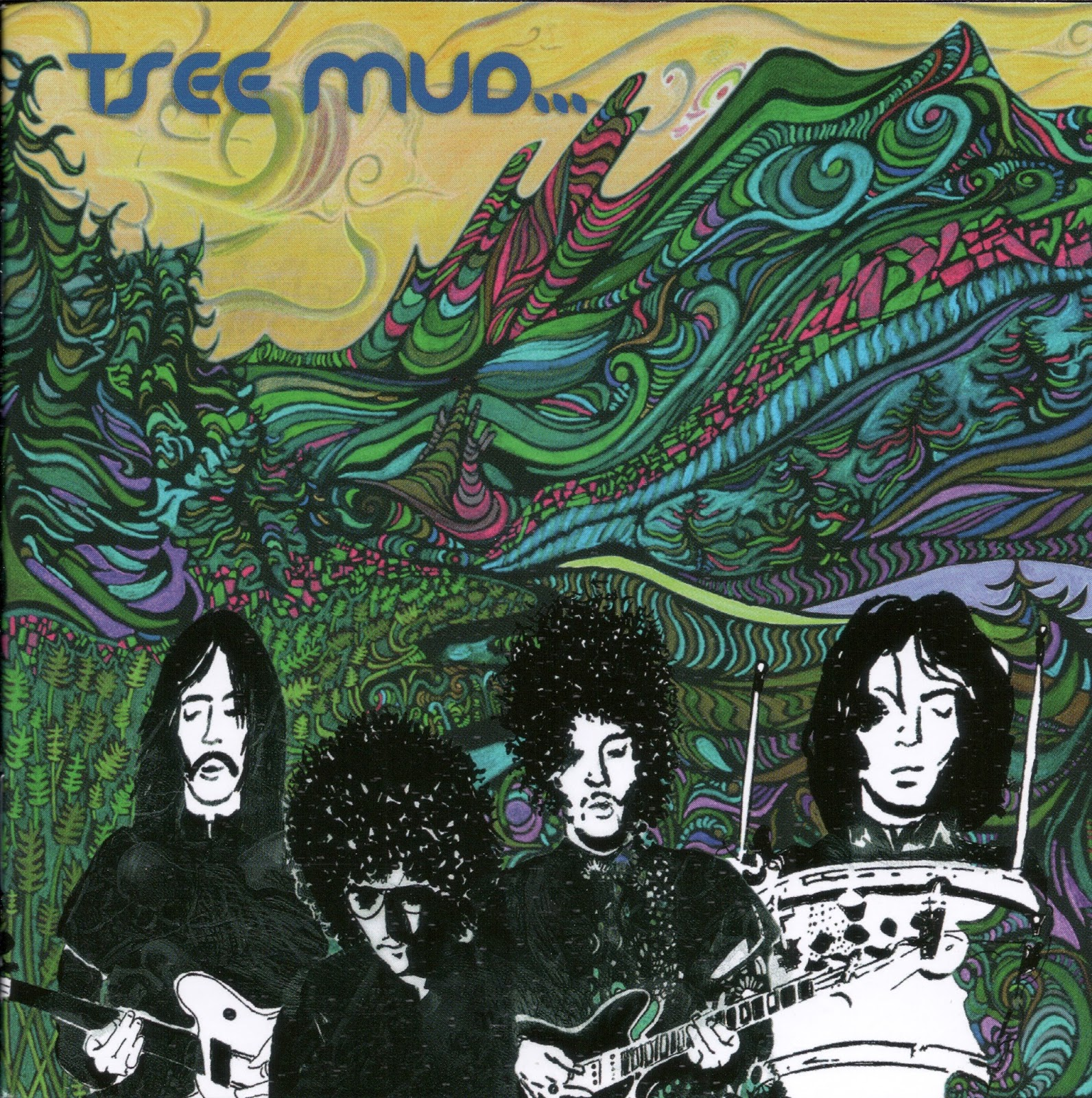 Venezuelan Fuzz Rock Outfit Tsee Mud Was The Brainchild Of Guitarist Jos Romero Who Made His Name In 1960s Playing Local Bands Like LSD And Bacro