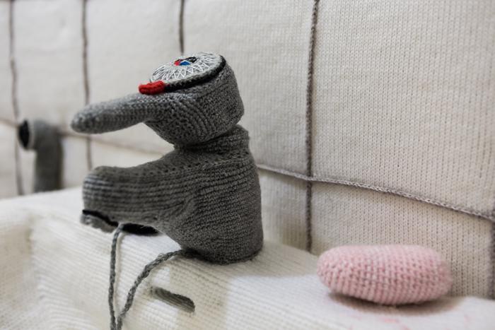 Virkattu wc Liisa Hietanen taide- ja museokeskus Sinkka Kerava