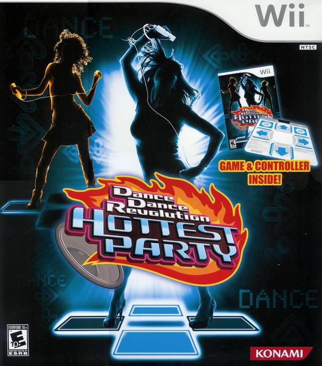 [Wii] Dance Dance Revolution: Hottest Party
