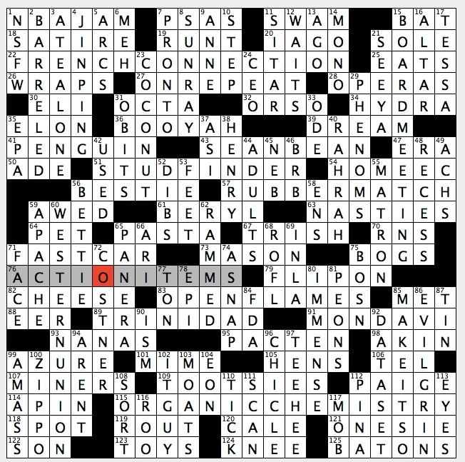 Good name for high noon themed dating site crossword clue