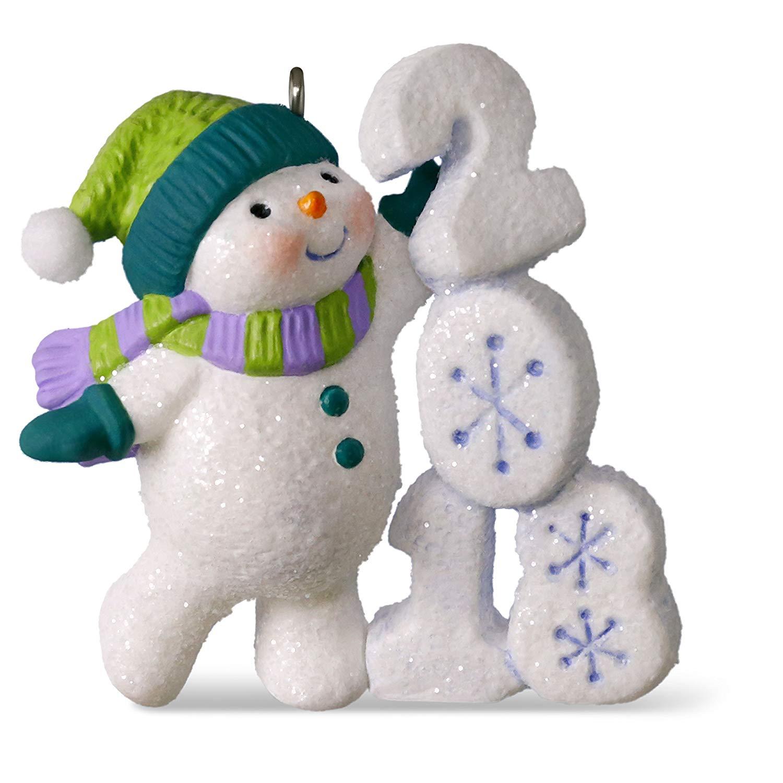Hallmark Snowman Ornament