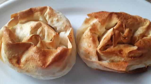 gül böreği hazırlanıiı