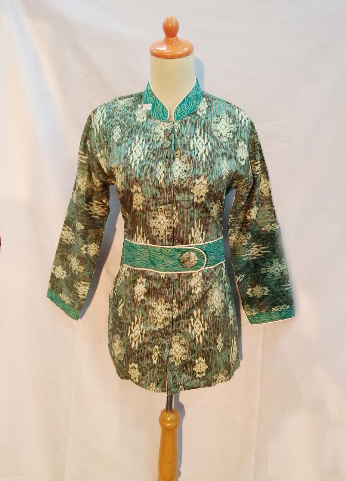 Batik Modern Wanita Kantoran. Atasan KaliRebung 01A. Atasan PERMATA 01A 3d7dbcbd0d