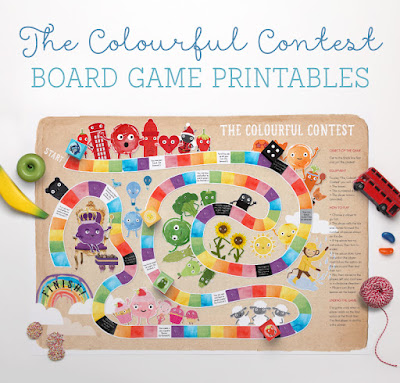 printable boards games for kids