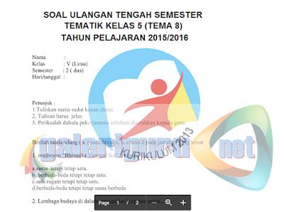 Kumpulan Soal UAS untuk SD, SMP, SMA/SMK 2017