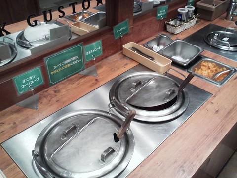 ビュッフェコーナー:スープ ステーキガスト岐阜鏡島店2回目
