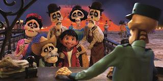 Fotograma de la película de animación Coco