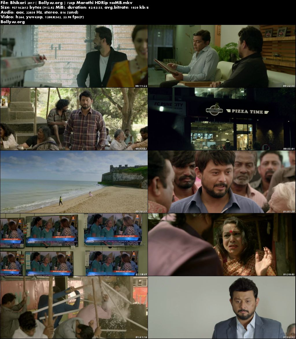 Bhikari 2017 HDRip 900MB Marathi Movie 720p Download