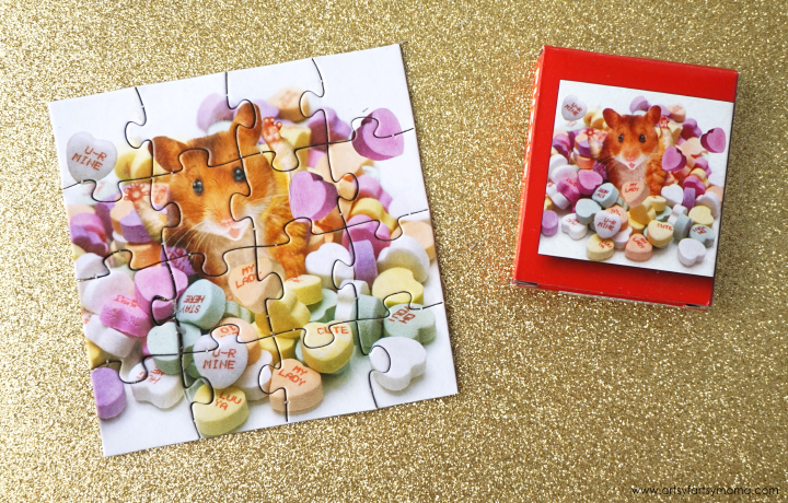 Kids of all ages will LOVE these Free Printable Puzzle Valentines!