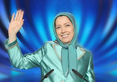 مريم رجوي عزيمة لاتفل بعض ما قالته رجوي في مؤتمر المجاهدين : وانتظروا اني معكم من المنتظرين