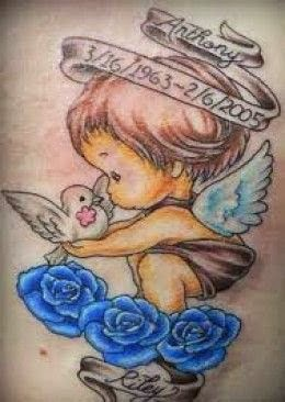 little angels tattoos
