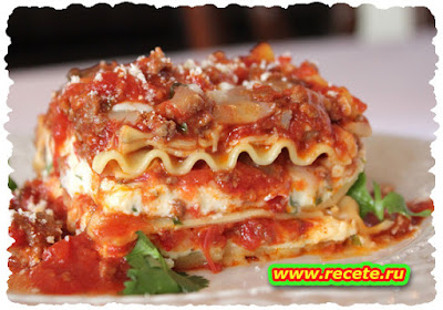 Beef and Olive Lasagna