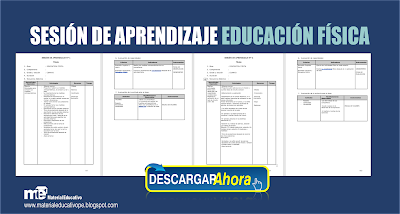 SESIÓN DE APRENDIZAJE EDUCACIÓN FÍSICA