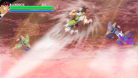 Dragon Ball Z: Attack of the Saiyans (EUR) Screenshots #4