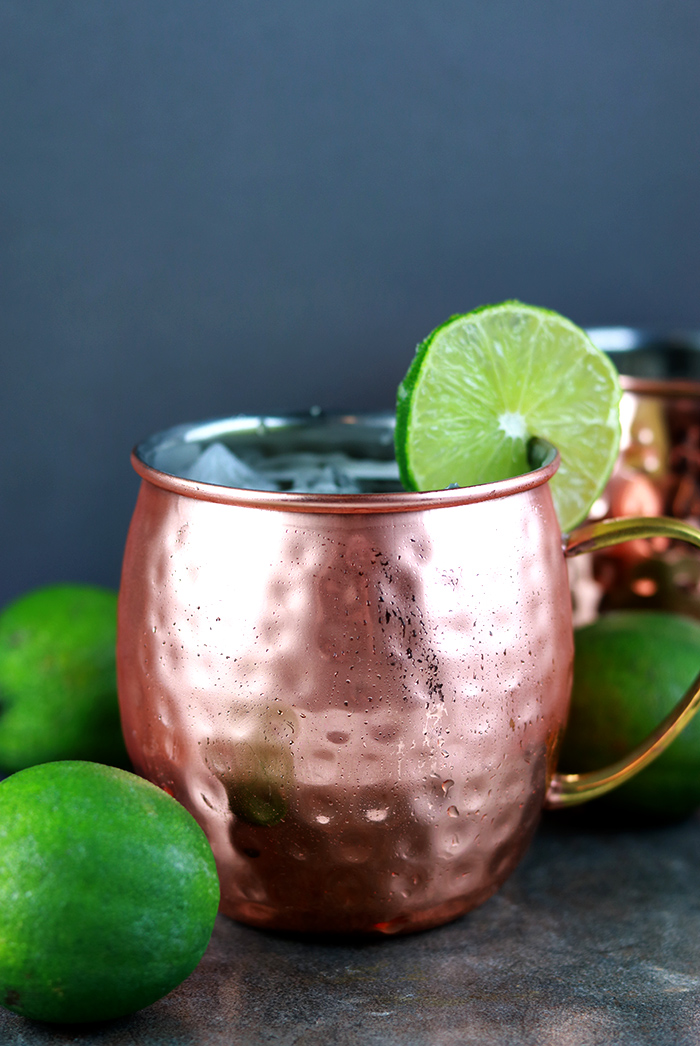 How to make a skinny moscow mule recipe.  This moscow mule variations is easy to make.  Add vodka or not for a non alcoholic recipe.  This best lighter moscow mule recipe has fewer calories.  It uses the traditional mugs for better taste.  How to make a moscow mule mocktail or cocktail.  You can make this in a pitcher for a crowd.