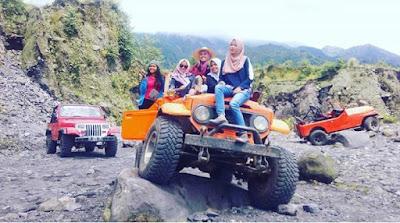 Wisata Jeep Merapi