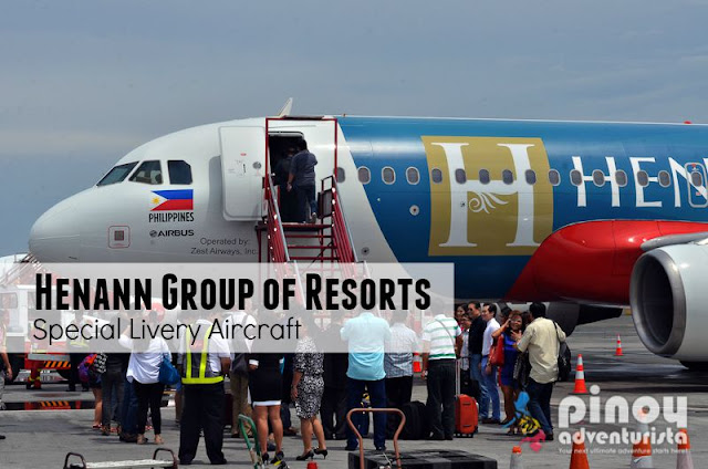 Henann Group of Resorts Special Air Asia Philippines Livery Aircraft