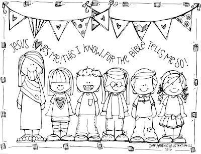 melonheadz lds illustrating tell about jesus coloring page