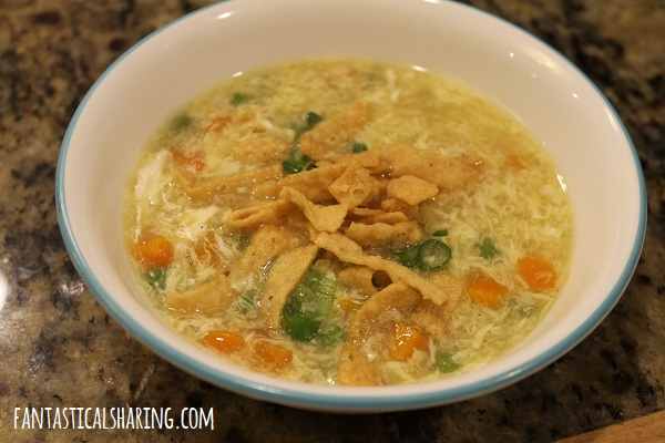 Egg Drop Soup #recipe #soup #egg #maindish