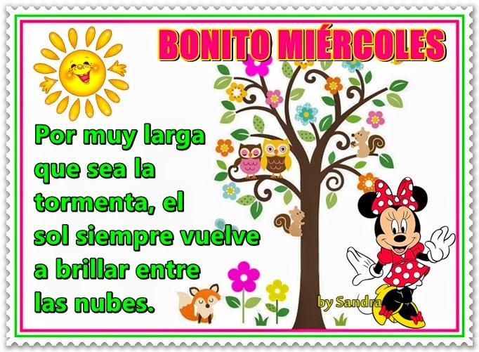 Imagenes De Buenos Dias Feliz Miercoles Mizancudito