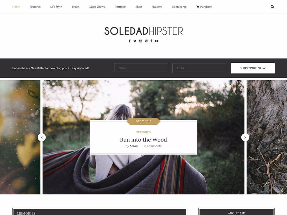 Download free WordPress Theme Soledad (v6 3 0) 2019 ~ The Gull Place