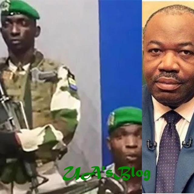 BREAKING: Military Seizes Power In Gabon