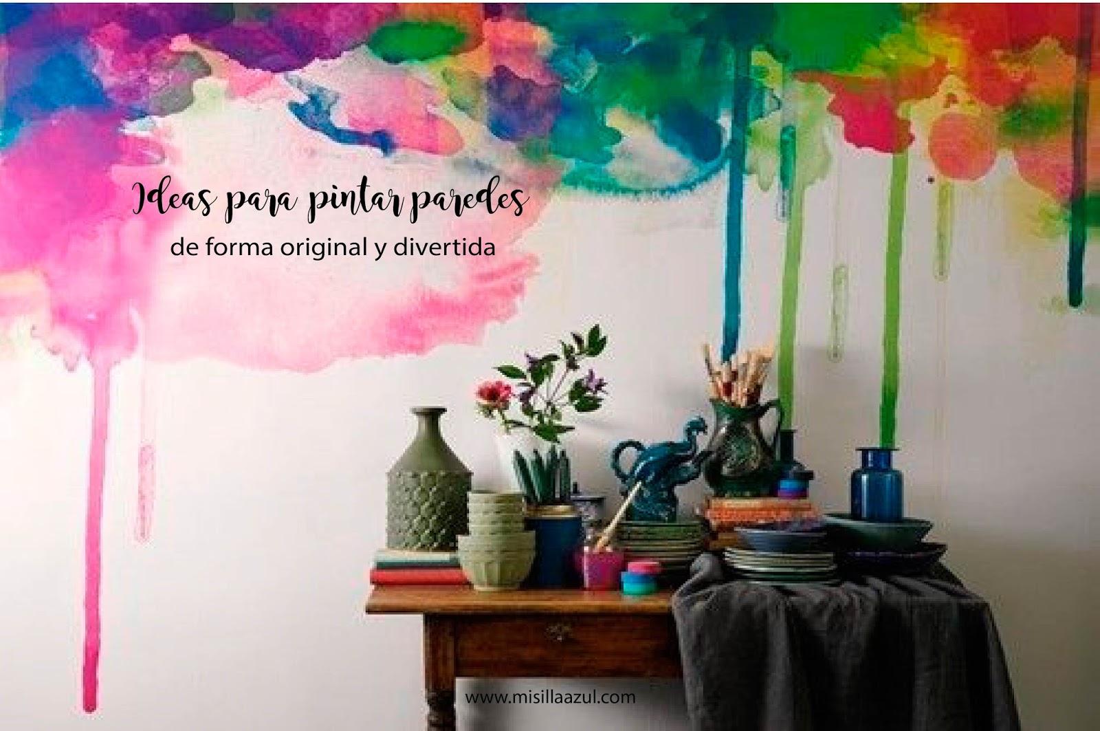 Ideas para pintar paredes  DIARIODECO