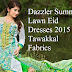 Dazzler Summer Lawn Eid Collection 2015-16 By Tawakkal Fabrics