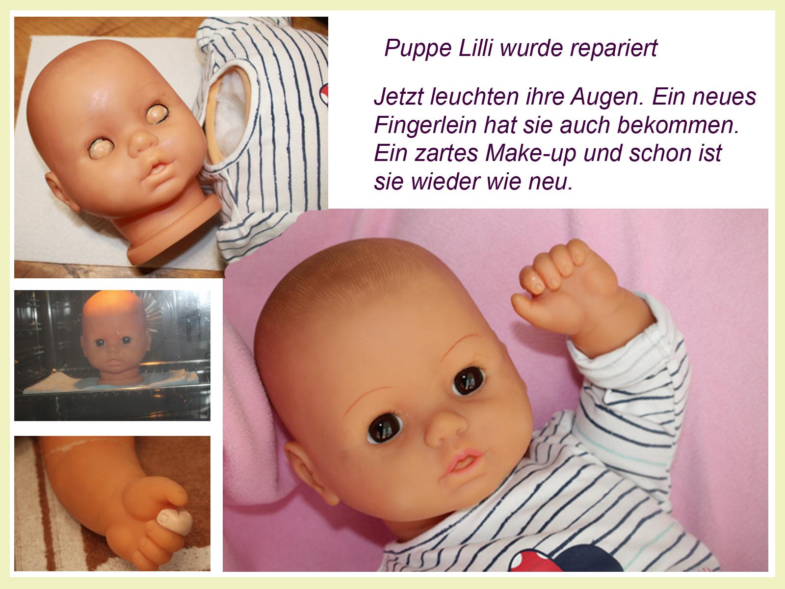 Deco Atelier Energethik Talisman Puppe Lilli Wurde Mir Zur