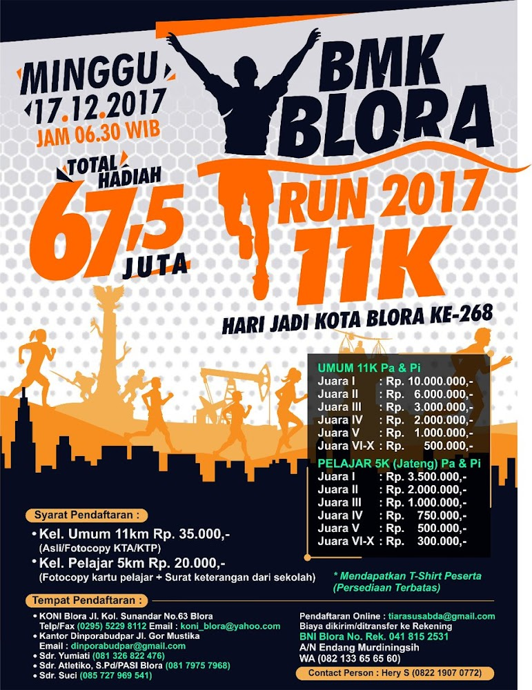 BMK Blora Run • 2017