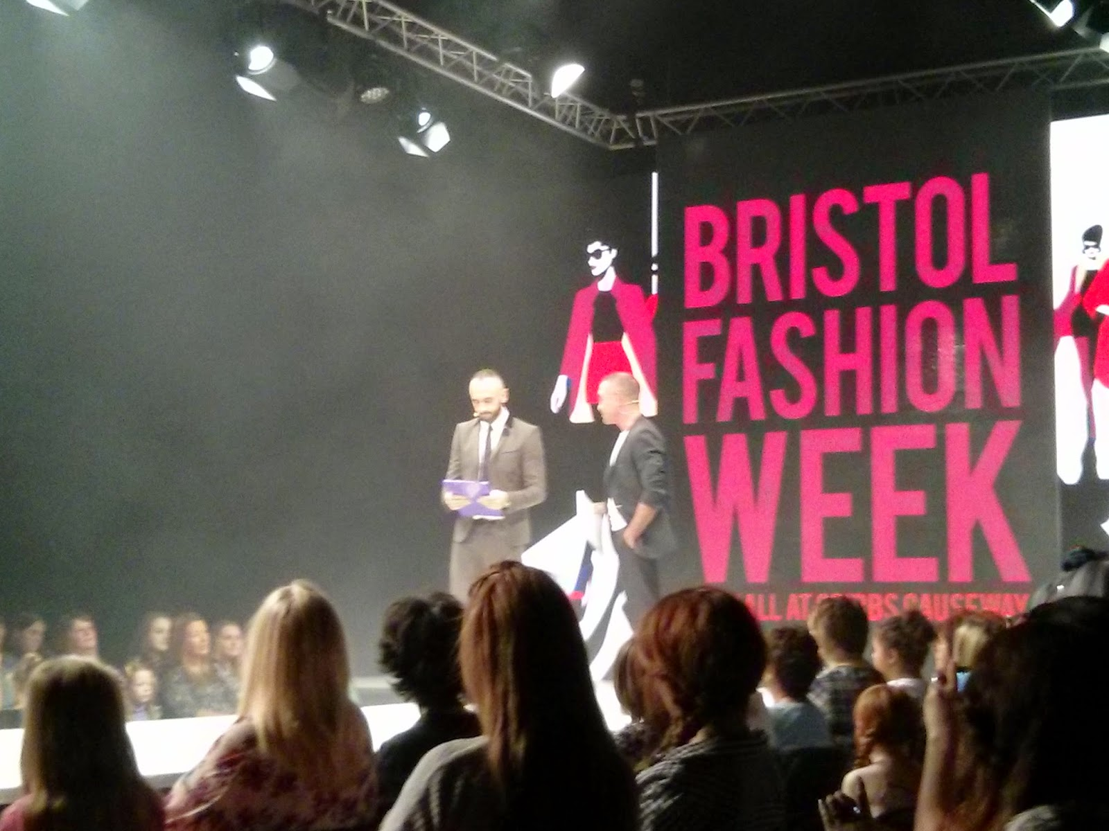 Andrew Barton & Mark Heyes, Bristol Fashion Week AW 2014
