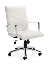 Offices To Go 11730 Ribbed Back Chair at OfficeFurnitureDeals.com