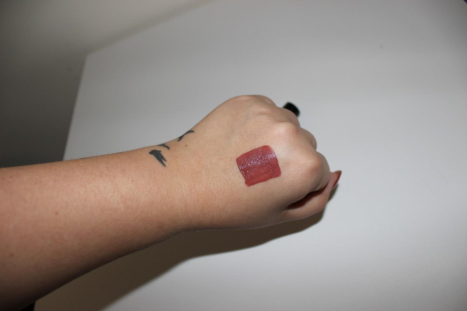 Liquid Lipstick Review Swatches