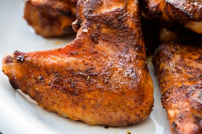 Chicken Wings, roasted and glazed
