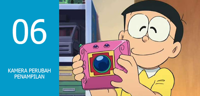 Alat Ajaib Doraemon yang Paling Memorable