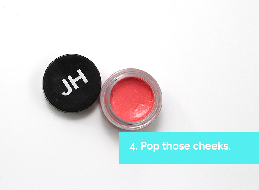 Cheekie cheek colors from Julie Hewitt are great on the lips, too!