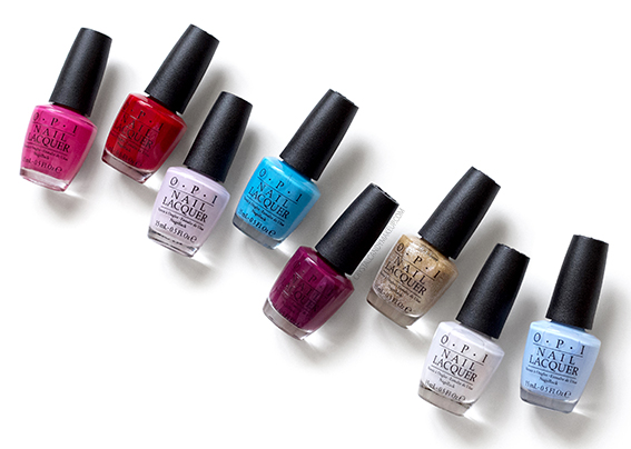 OPI Alice Through the Looking Glass Nail Lacquer Collection Review Photos