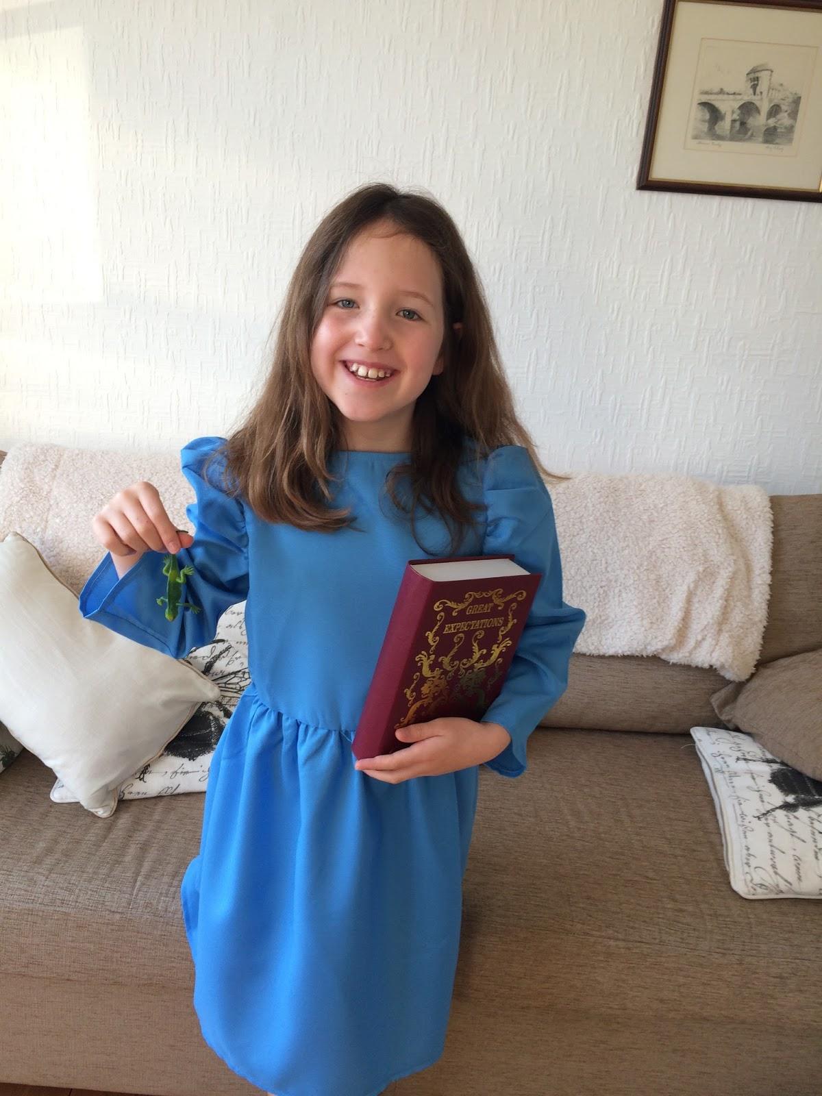 Caitlin as Roald Dahl's Matilda