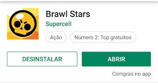 Como abro o jogo Brawl Stars